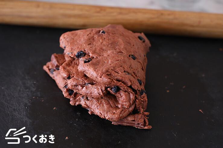 チョコベリースコーンの手順写真その5