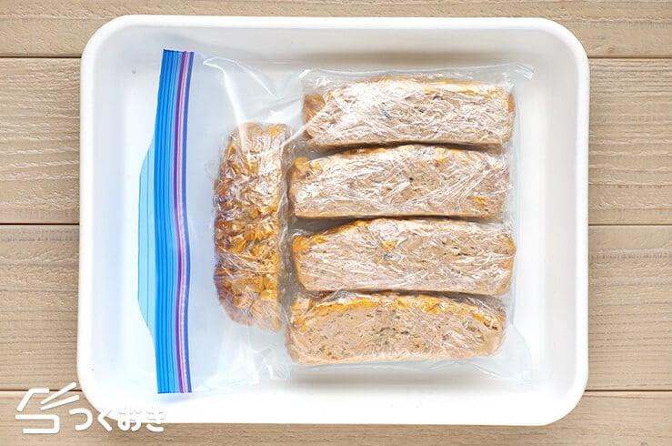 コーンミートローフの冷凍写真