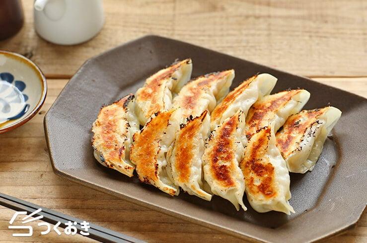 白菜ギョウザの料理写真