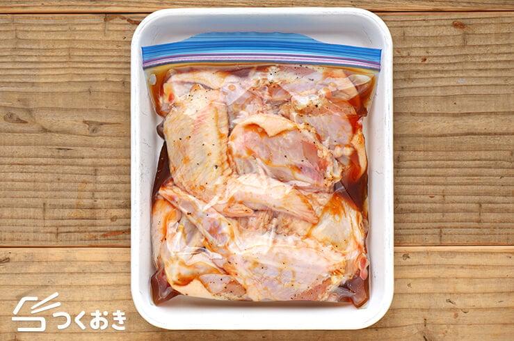 手羽先のペッパー醤油オーブン焼きの冷凍写真