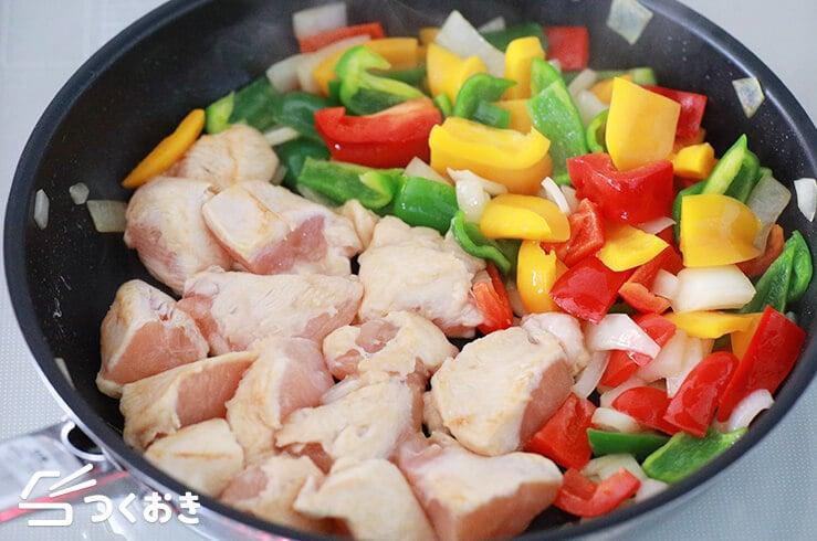 鶏むね肉の酢鶏の手順写真その3
