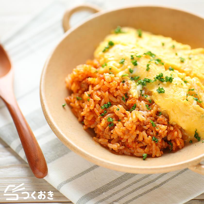 オムライスの料理写真