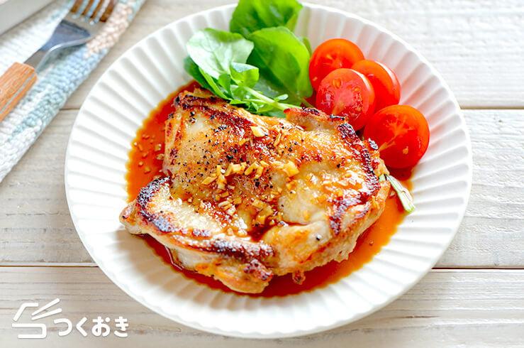 ガーリック醤油チキンステーキの料理写真
