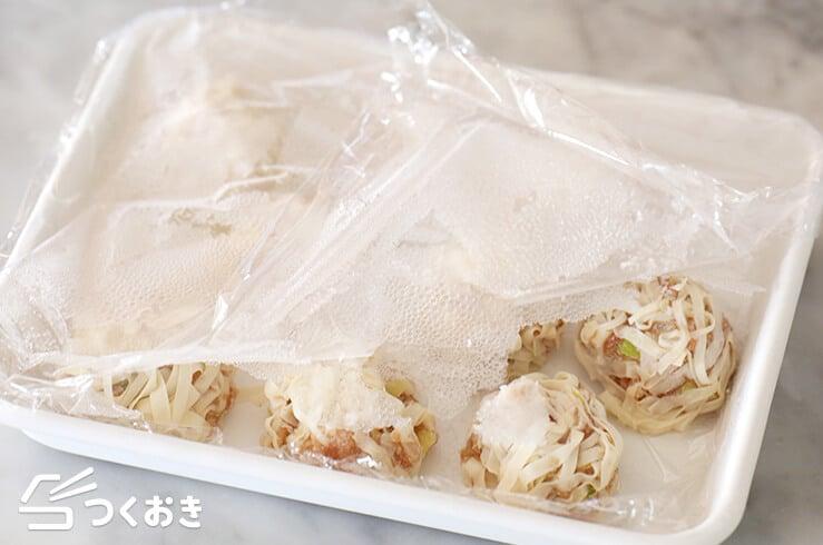 豆腐シュウマイの冷凍写真その1