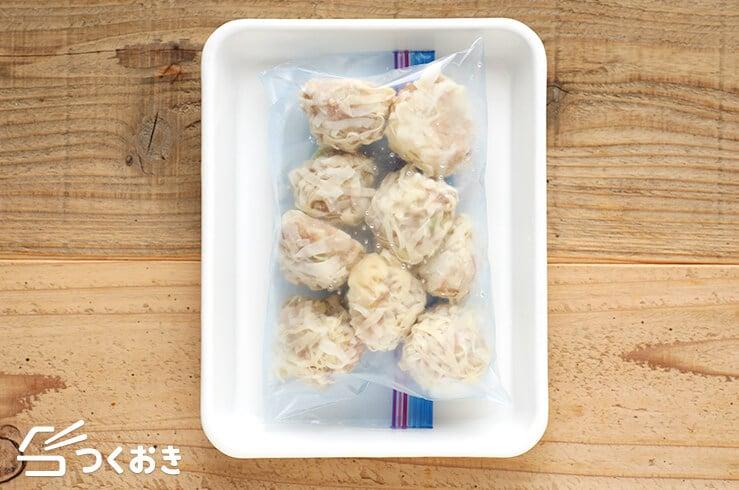 豆腐シュウマイの冷凍写真その2