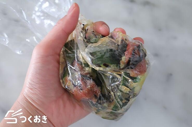 たたききゅうりの梅塩こんぶ和えの手順写真その4
