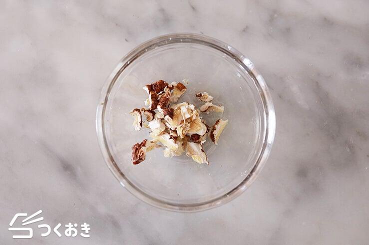 豚肉と小松菜のだし醤油炒めの手順写真その3