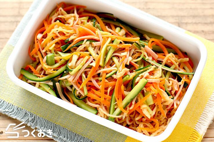 切り干し大根の中華風サラダの料理写真