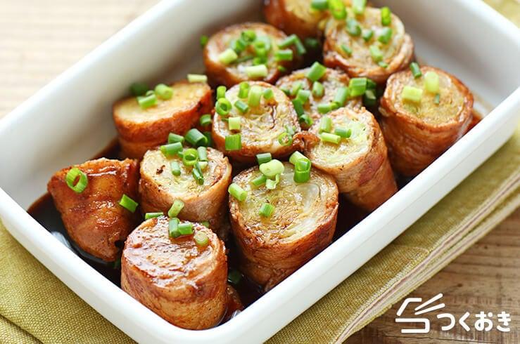 キャベツの豚肉ロールの料理写真
