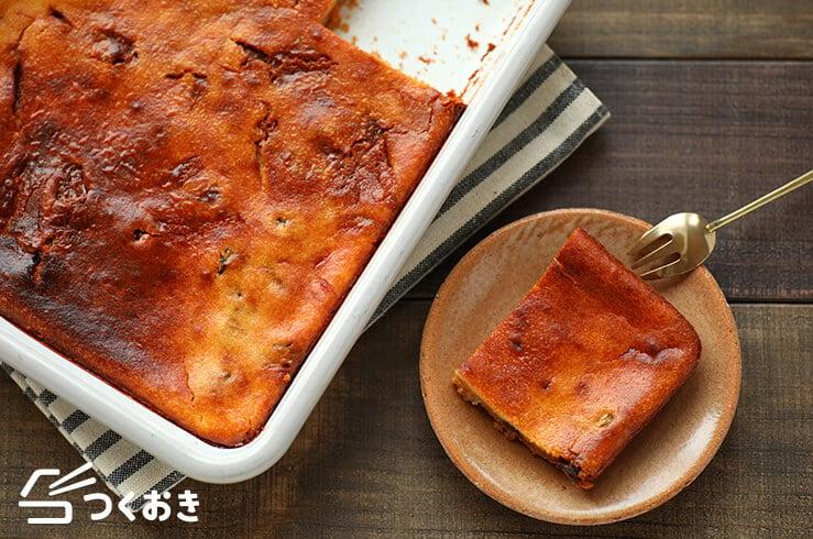キャラメルチーズケーキの料理写真