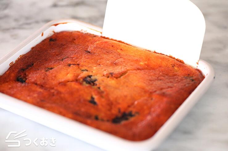 ヨーグルトブルーベリーケーキの手順写真その2