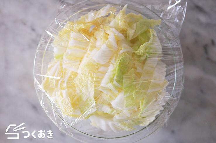 鶏肉と白菜のピリ辛みそ炒めの手順写真その1