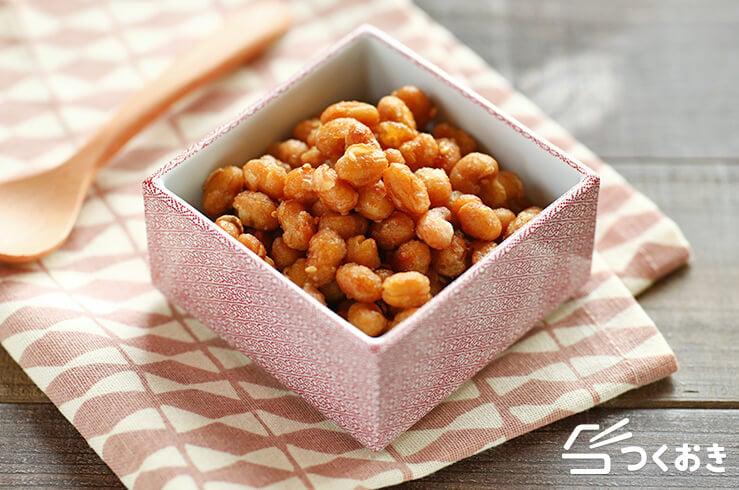 大豆の甘辛揚げの料理写真