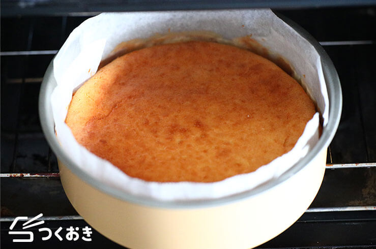 ホワイトチョコのチーズケーキの手順写真その3