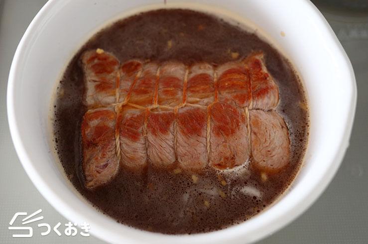 ジューシー煮豚の手順写真その3