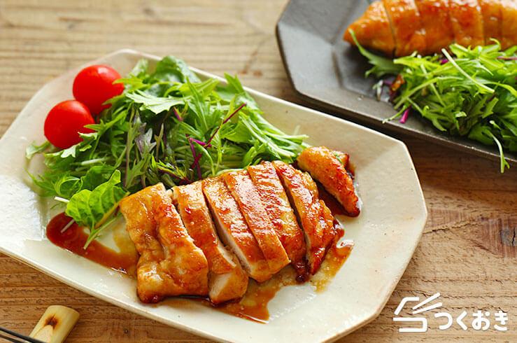 鶏むね肉の照り焼きの料理写真