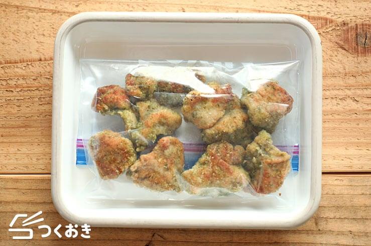 鶏むね肉の磯辺から揚げの冷凍写真