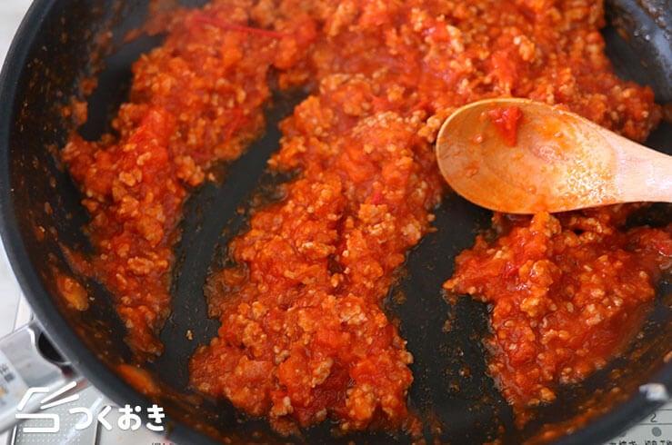 なすとトマトのラザニア風の手順写真その2