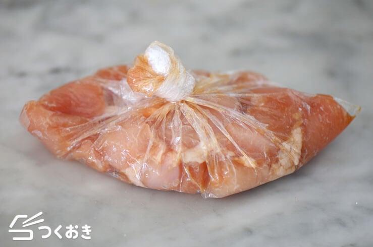 鶏むねキャベツのポン酢びたしの手順写真その1