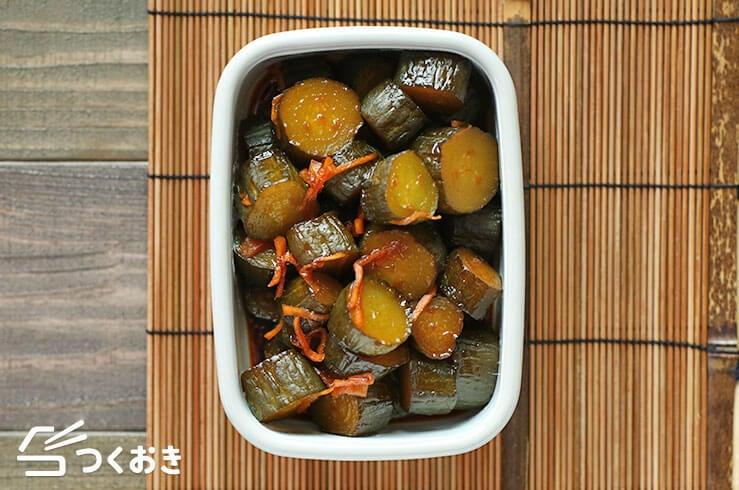 きゅうりの醤油漬けの料理写真