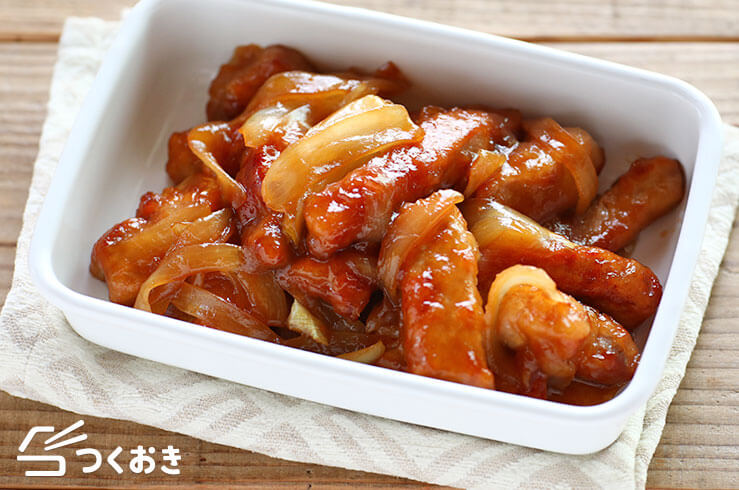 豚肉とたまねぎの甘酢炒め(酢豚風)の料理写真