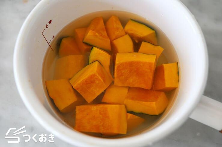 かぼちゃの塩バターの手順写真その1