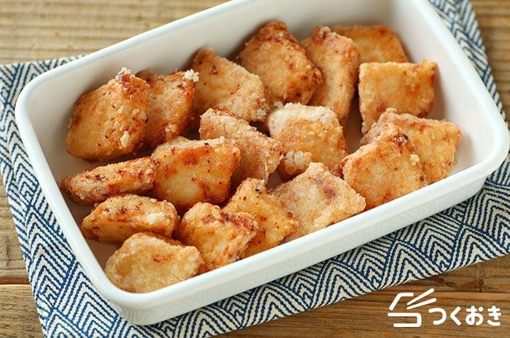 かじきの竜田揚げの料理写真