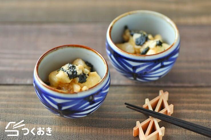 長芋のわさび醤油和えの料理写真