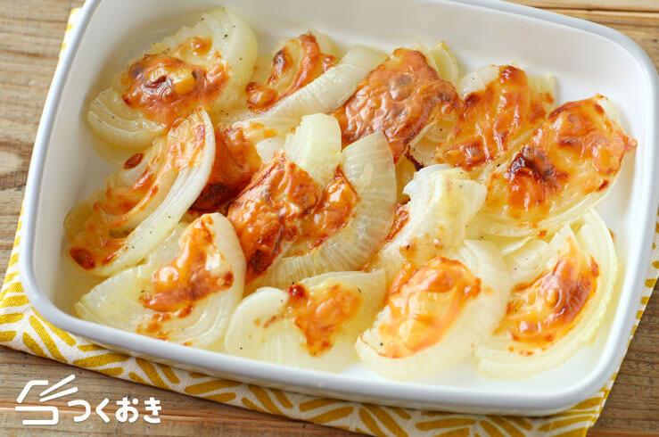 たまねぎチーズのオーブン焼きの料理写真