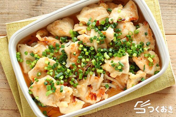 鶏むね肉の和風マリネの料理写真