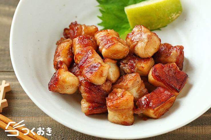豚バラはんぺんのころころ焼きの料理写真