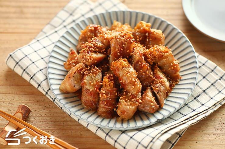 えのきの豚巻きの料理写真