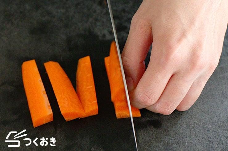 にんじんの拍子木切りの写真その2