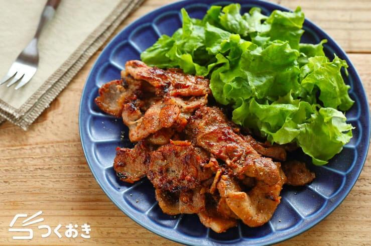 豚肉のガーリック醤油ソテーの料理写真