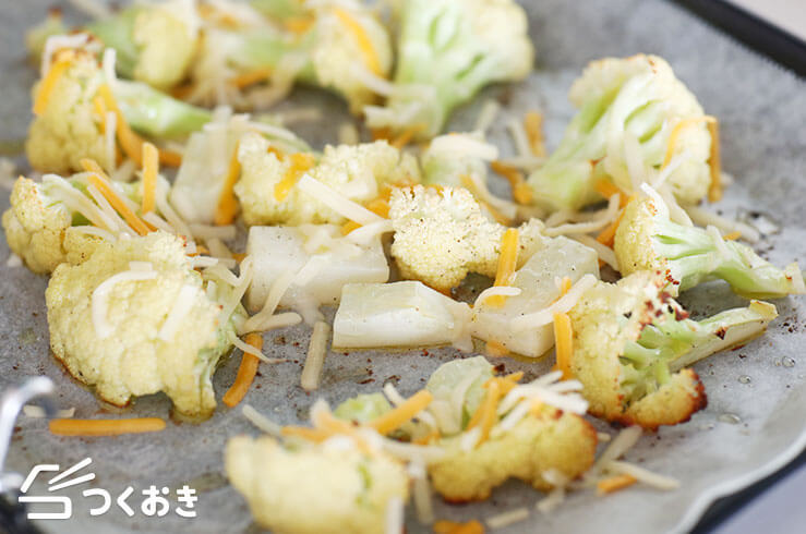 カリフラワーのチーズ焼きの手順写真その2