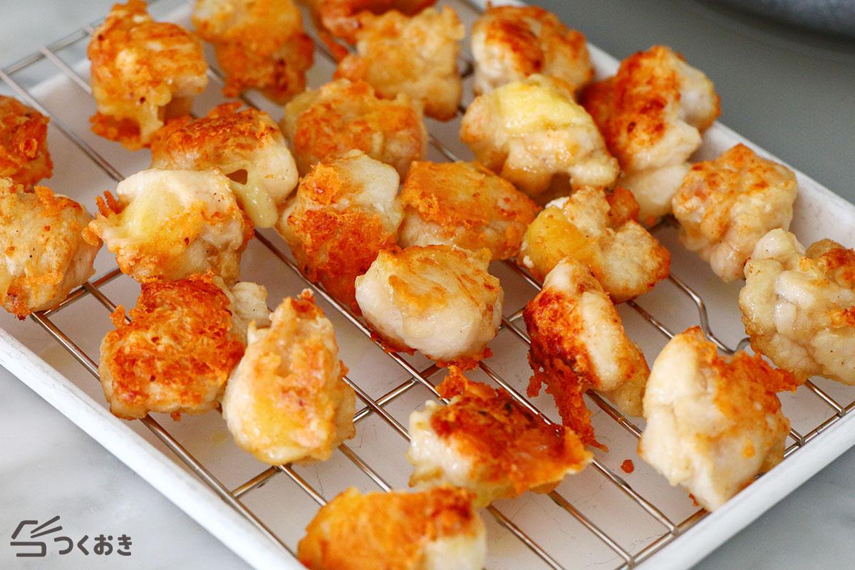 鶏むね肉のチキンチーズボールの手順写真その5