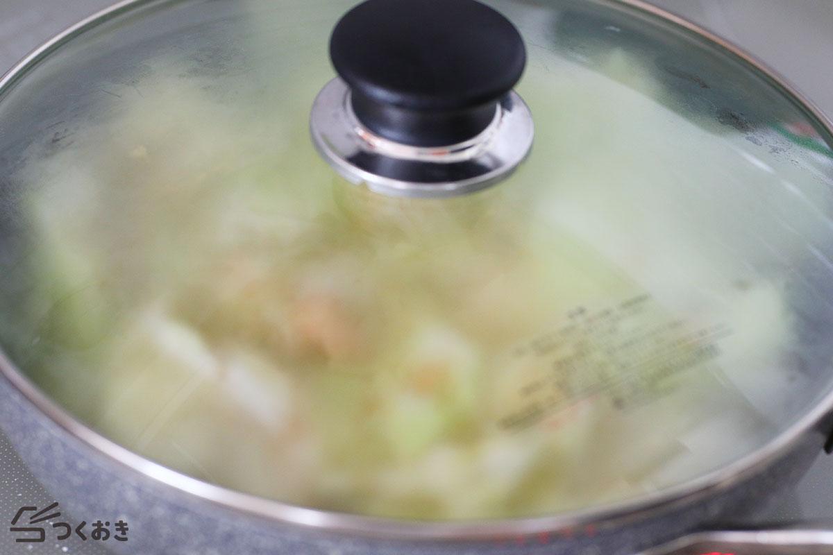 鶏とキャベツのスープ煮の手順写真その4