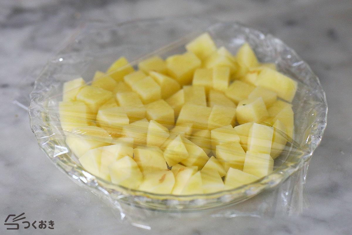 のり塩バターポテトの手順写真その1