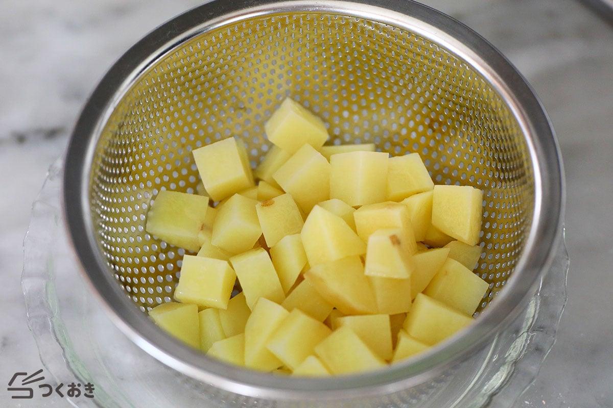 のり塩バターポテトの手順写真その2