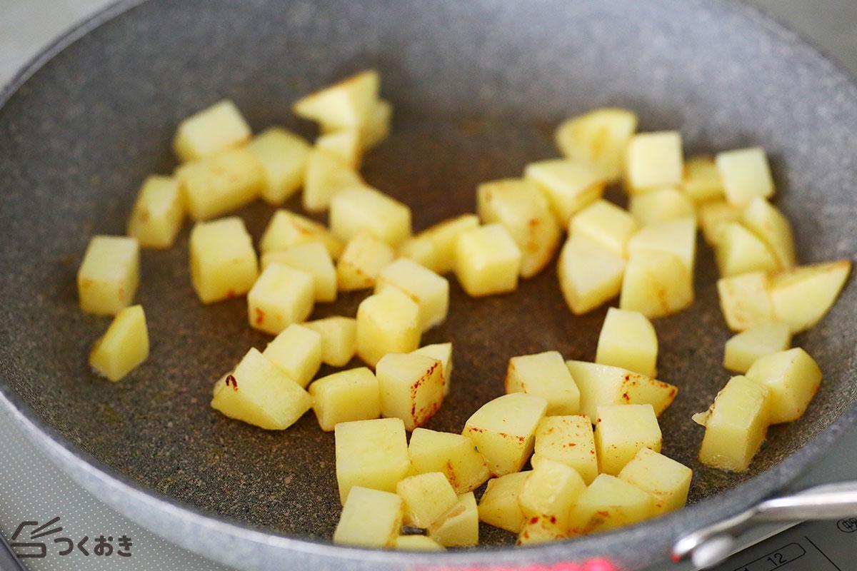のり塩バターポテトの手順写真その3