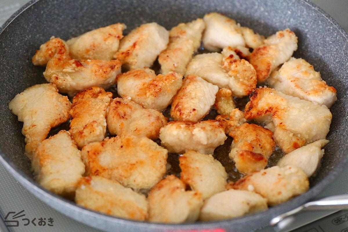 鶏むね肉の塩こうじから揚げの手順写真その3
