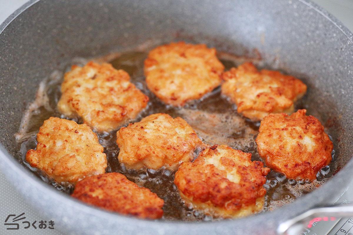 鶏むね肉のチキンナゲットの手順写真その5
