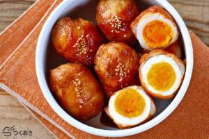 コクうま味の肉巻き卵の写真
