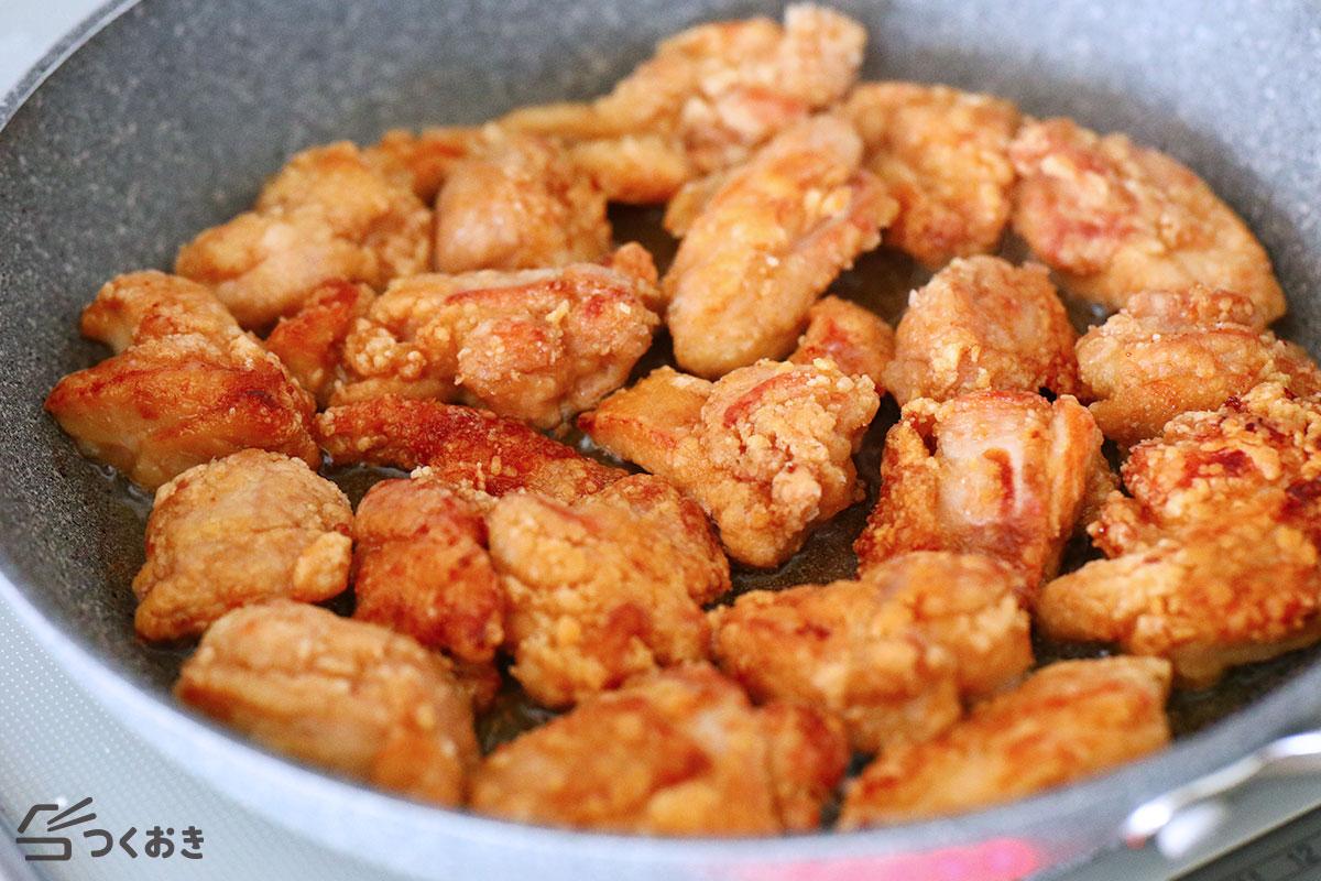 オイスター鶏ももから揚げの手順写真その3