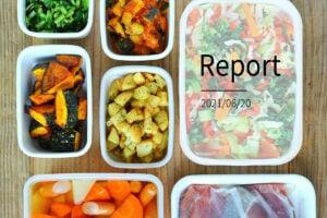野菜いっぱい10品。週末まとめて作り置きレポート(2021/06/20)の写真
