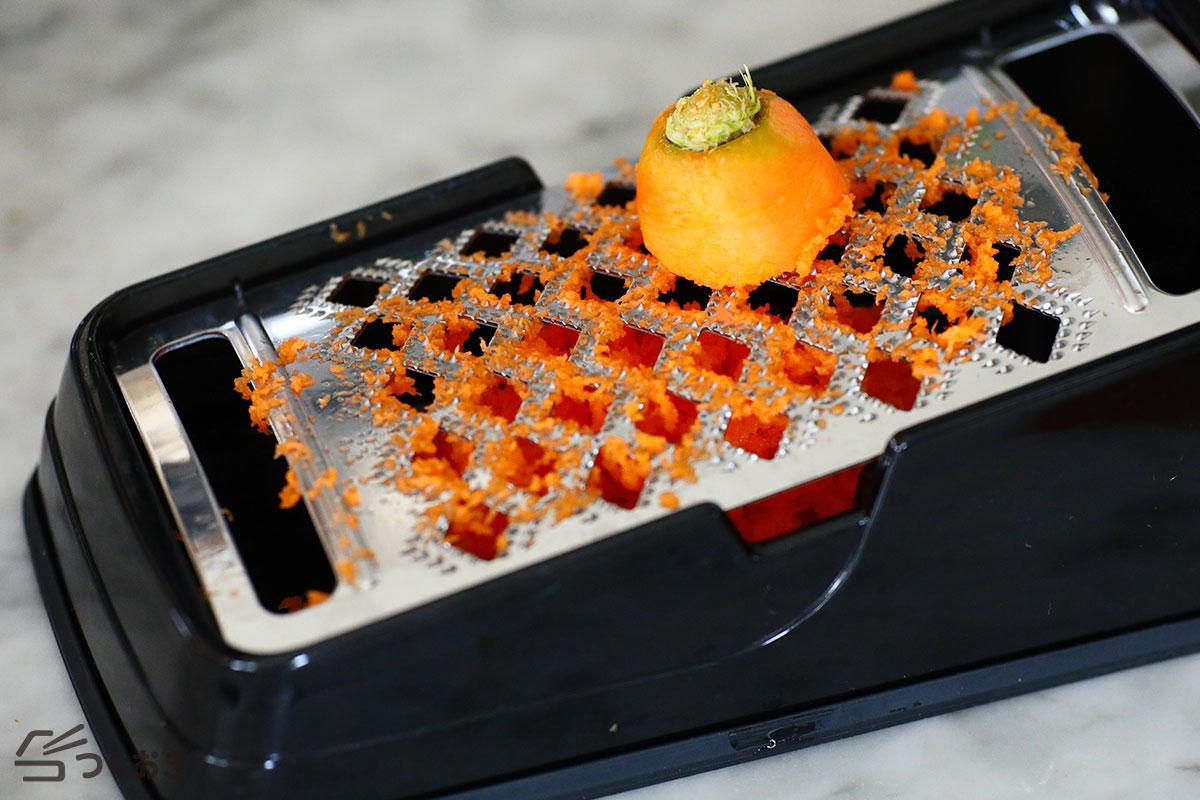 にんじんのチーズケークサレの手順写真その1