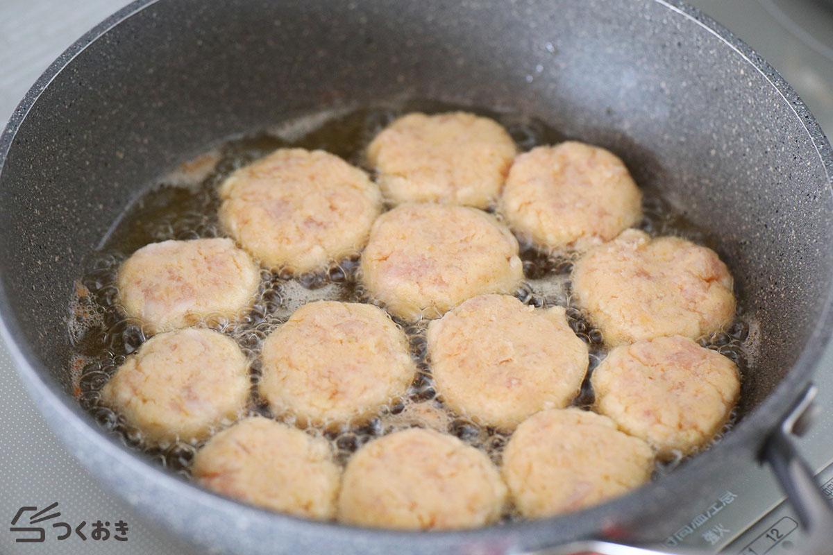 鶏むね肉とおからのサクサクナゲットの手順写真その2