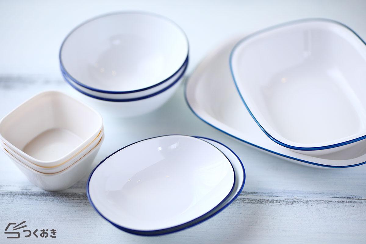 セリアのプラスチック食器