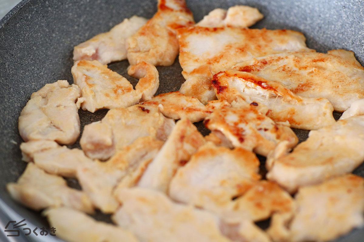 鶏むね肉の西京焼きの手順写真その4