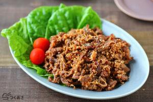 韓国風焼き肉の写真